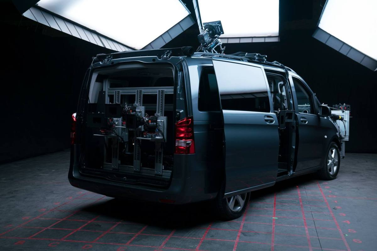The Ultimate Plate Van for MINDHUNTER