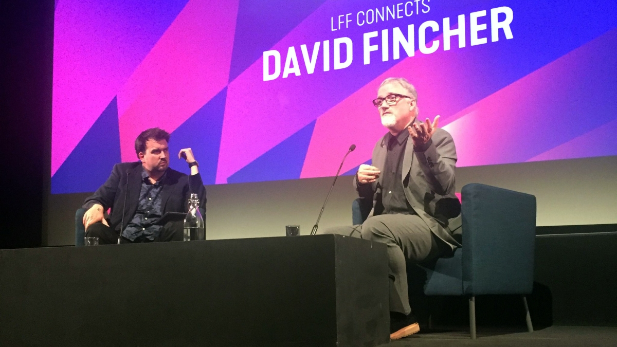 BFI LFF: MINDHUNTER Q&A with David Fincher hosted by Nev Pierce. Complete Audio