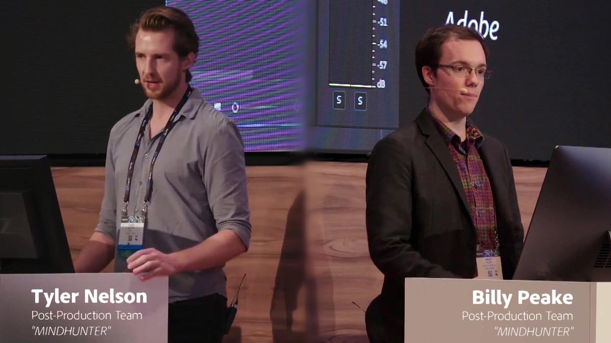 """MINDHUNTER"": Pushing Boundaries in Post-Production (NAB Show2018)"