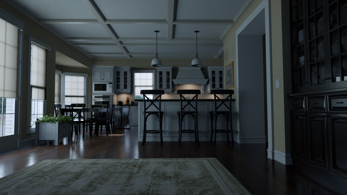 Making the Lounge from Gone Girl in 20 minutes inBlender