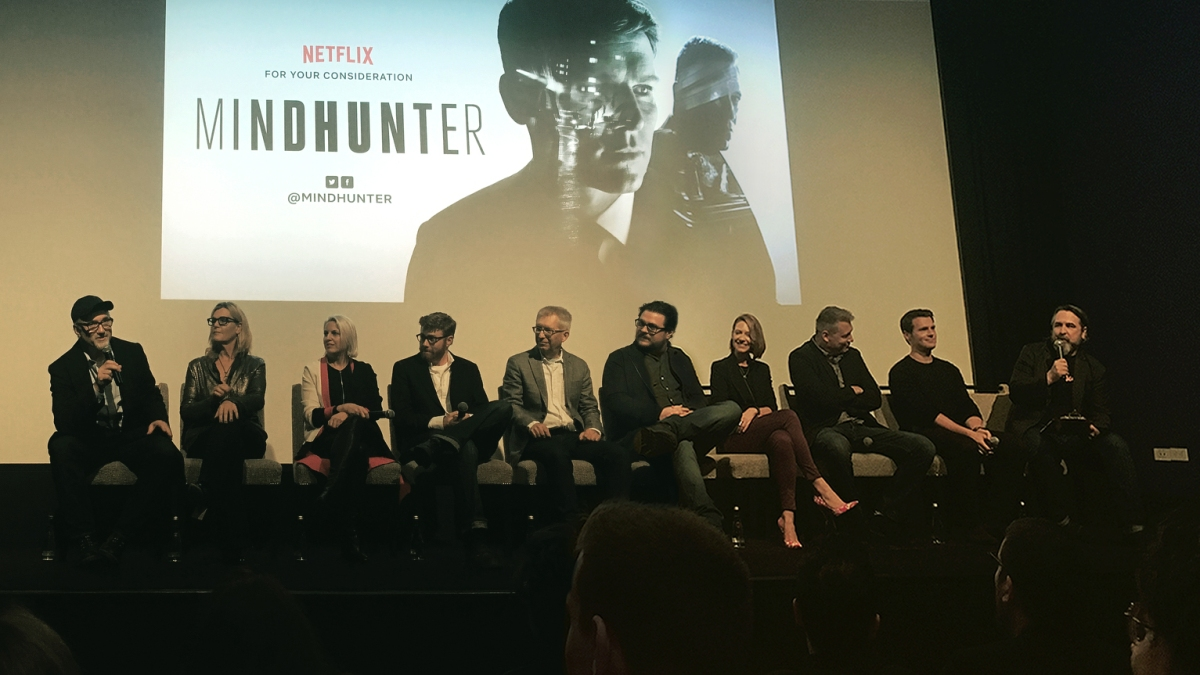 MINDHUNTER panel at Netflix FYSEE