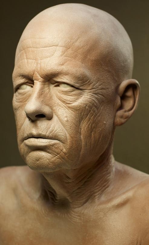 Clay sculpture (Kazuhiro Tsuji, 2007)