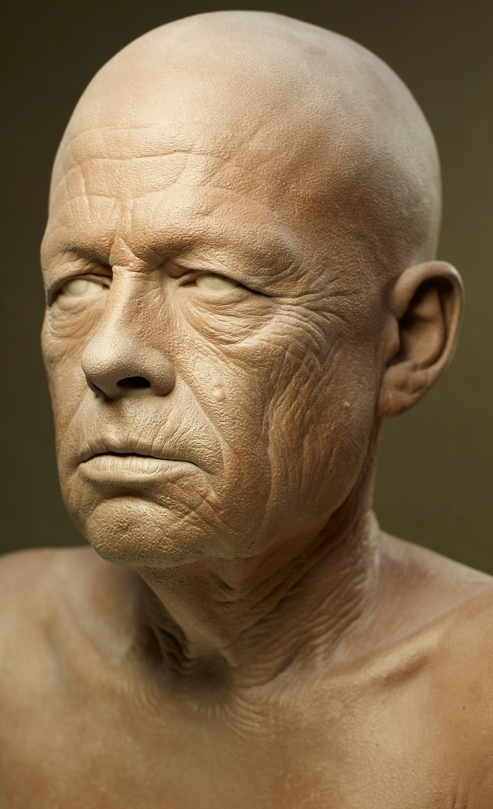 Clay sculpture (Kazu Hiro, 2006)