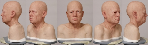 Silicone head for CG (Kazu Hiro, 2006)