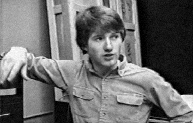1982. David Fincher at ILM