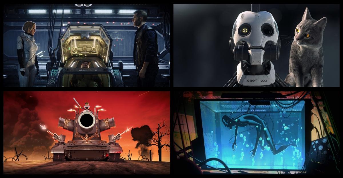 """Love, Death & Robots"": Tim Miller and David Fincher's Animated Anthology Series forNetflix"