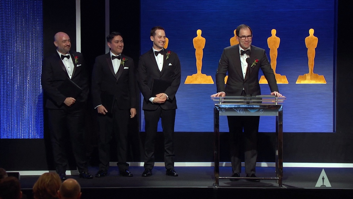 PIX System honored at the Academy of Motion Picture Arts and Sciences' Scientific and TechnicalAwards