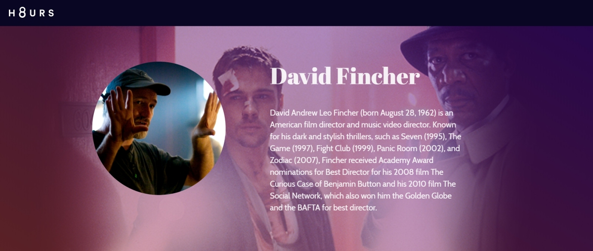 H8URS: David Fincher
