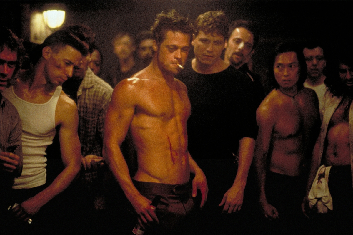 'Fight Club' 20th Anniversary: Holt McCallany on Standing Behind Brad Pitt in 'Iconic' Photo