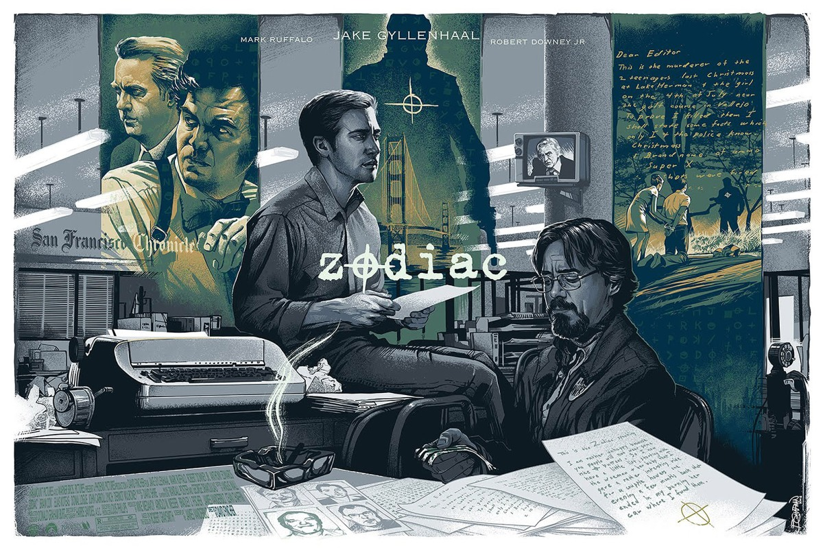 Fincher's 'Zodiac': A Suspenseful and Thrilling Combination of Police Procedural and Newspaper Film That Masterfully Chronicles the Progression ofObsession