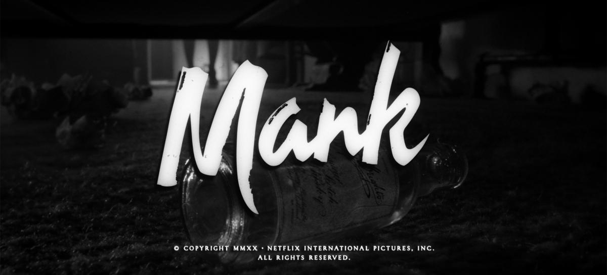 Mank: Reddit Teaser