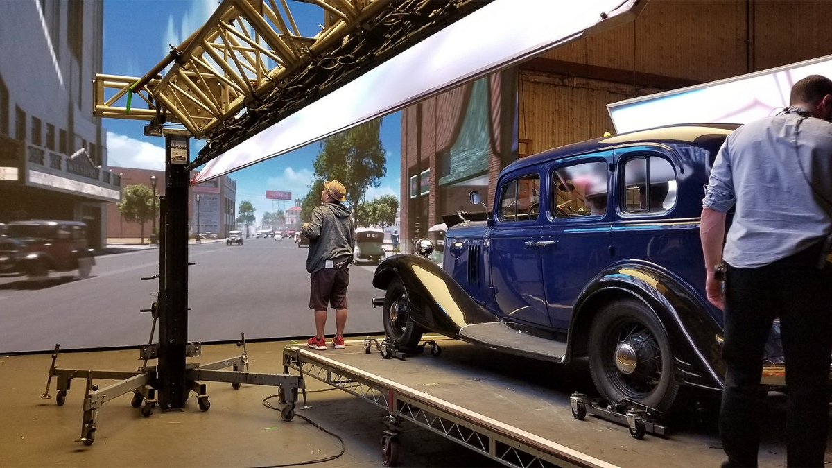 Territory Studio: The LED Rear Projection VFX forMank