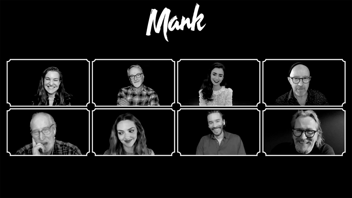 Mank: Interviews. TheCast