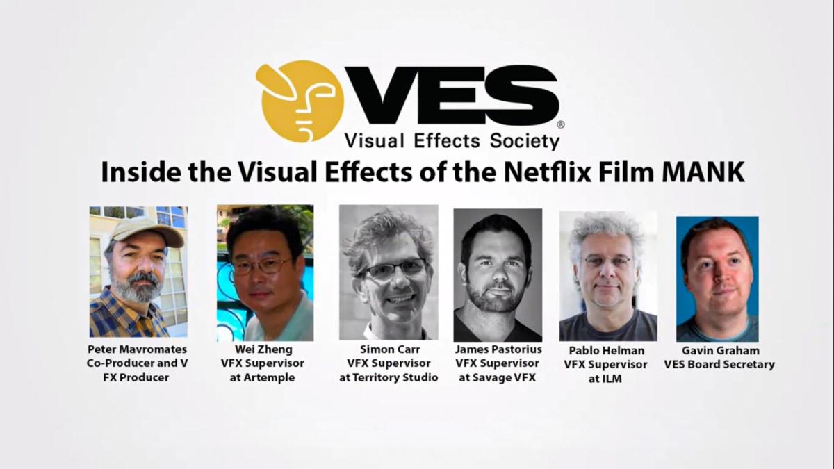VES: Inside the Visual Effects of the Netflix FilmMank