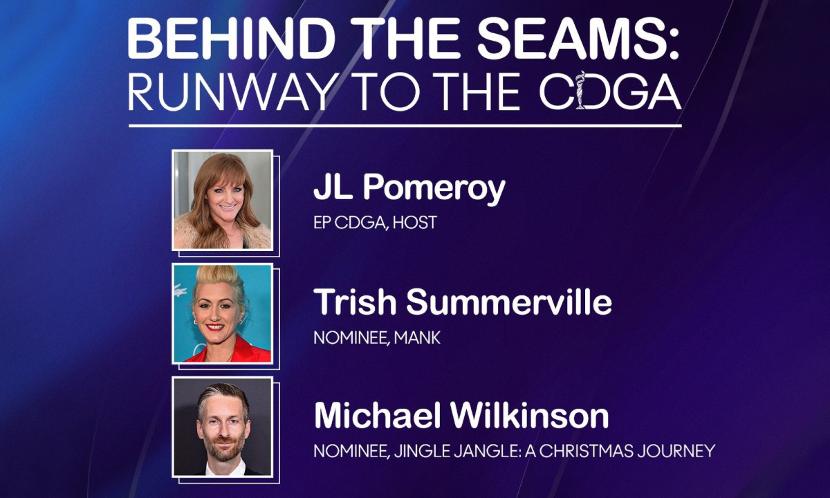 Behind the Seams: CDGA Nominees Trish Summerville and Michael Wilkinson