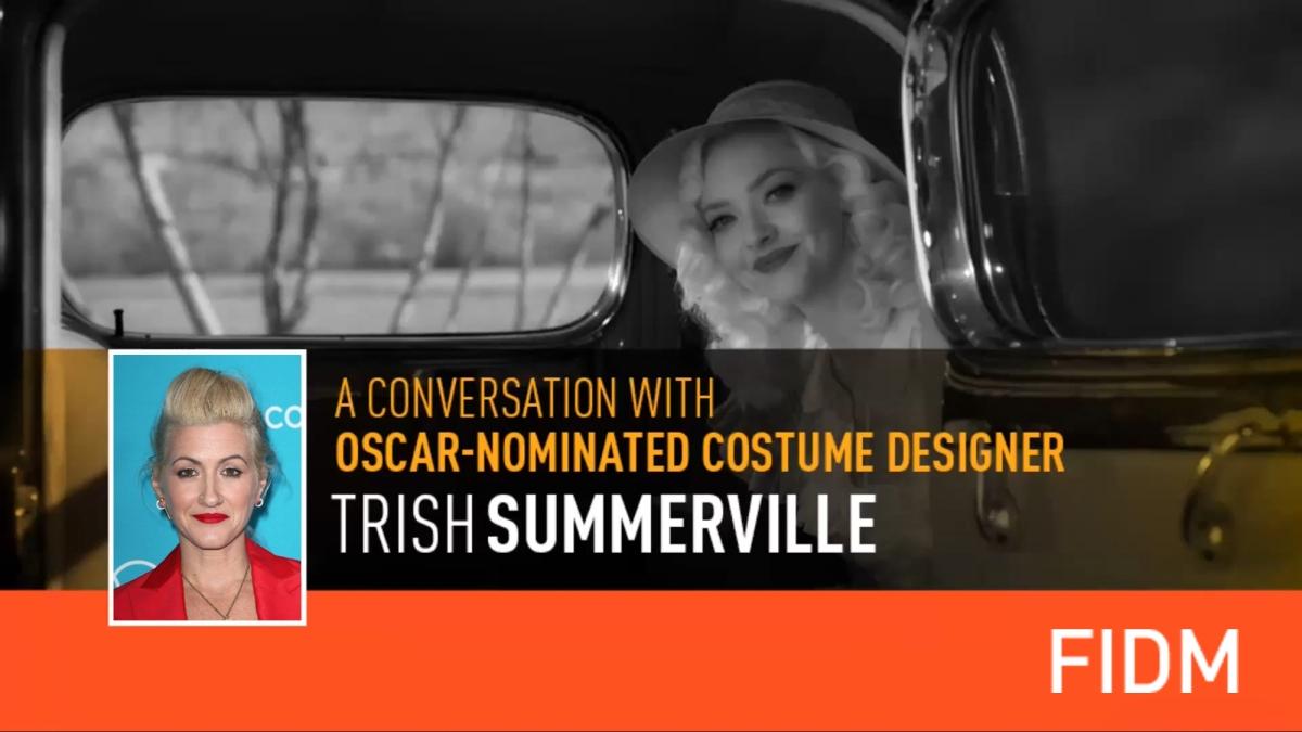 A Conversation with Oscar-Nominated Costume Designer, TrishSummerville